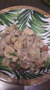 Fenouil et shiitaké… à l'étouffée