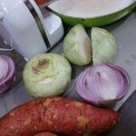 Légumes à l'étouffée, cuisson rapide