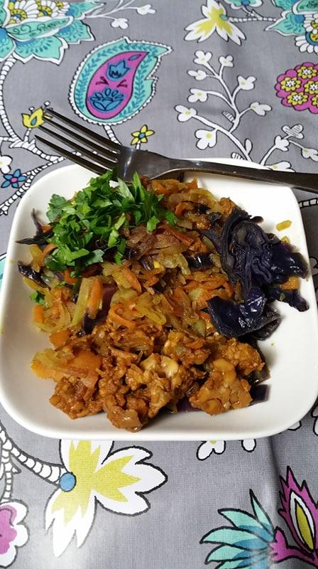 Légumes variés au curry