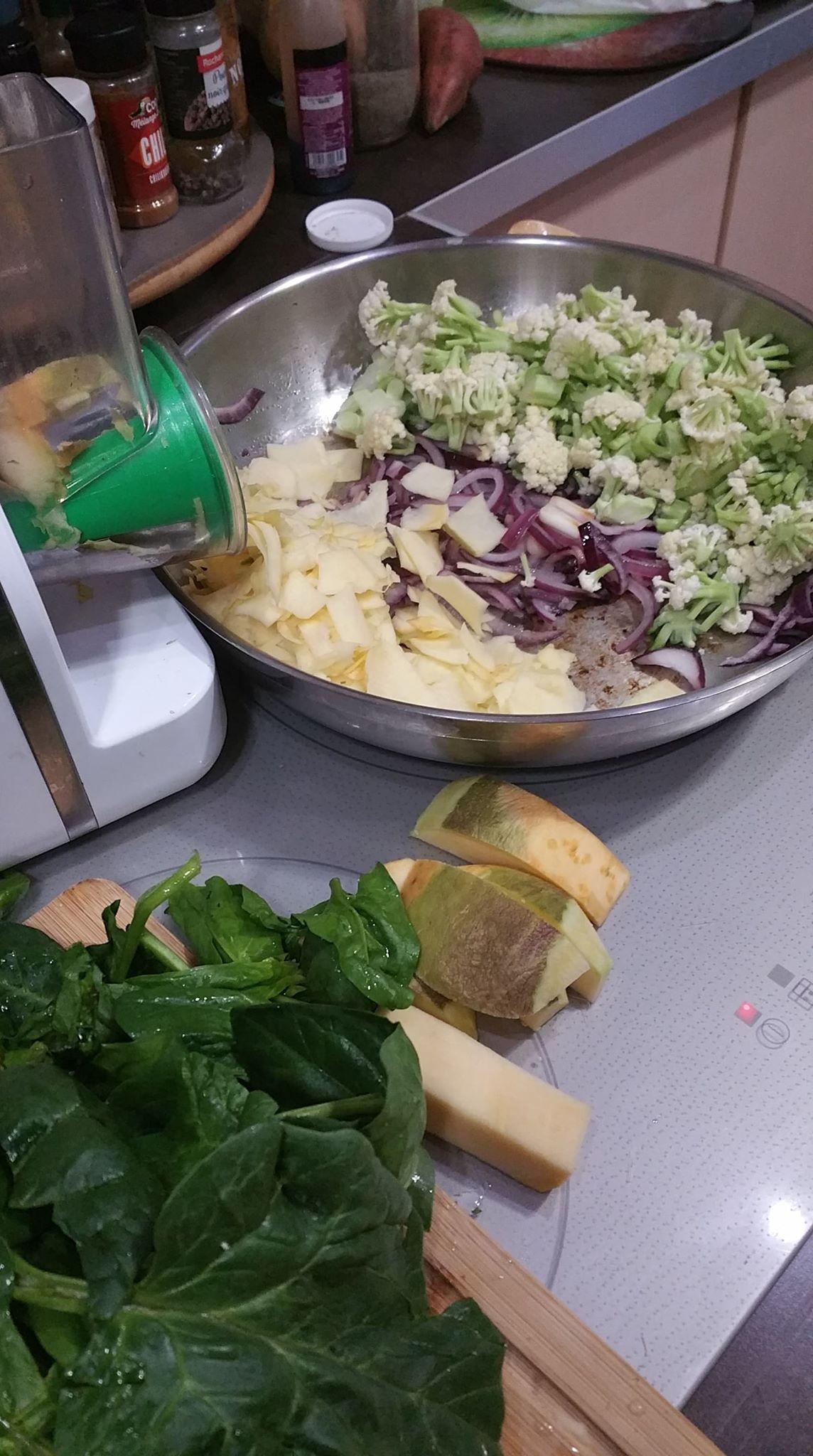 Légumes variés à l'étouffée