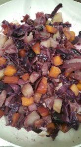 Chou et légumes anciens, recette facile!