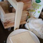 Mon premier tofu lactofermenté
