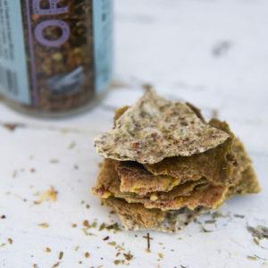 Crackers «Ail basilic » 200g