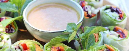 Sauce crudités crémeuse au miso blanc